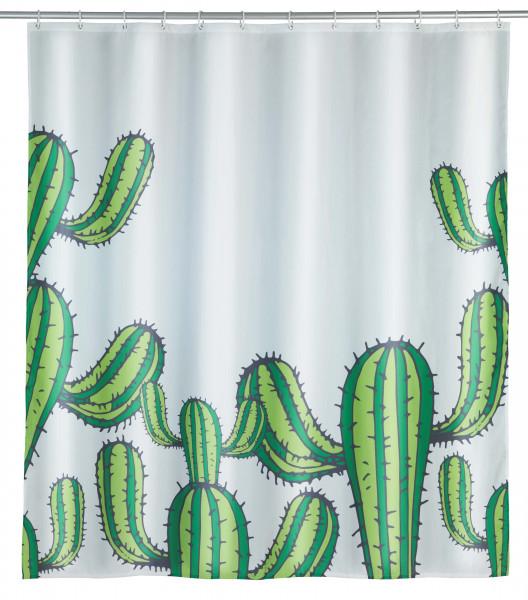 Duschvorhang Cactus Polyester, 180 x 200 cm, waschbar