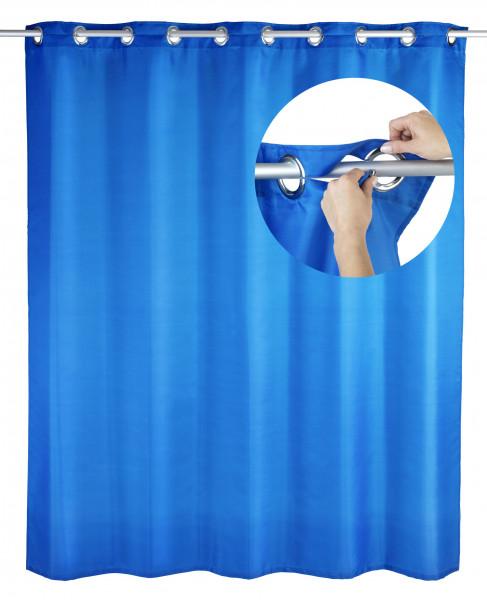 WENKO Duschvorhang Comfort flex blau,Polyester