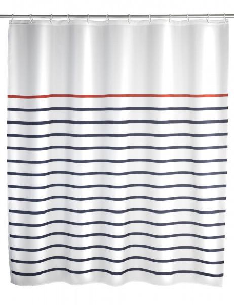 Duschvorhang Marine white, 180x200