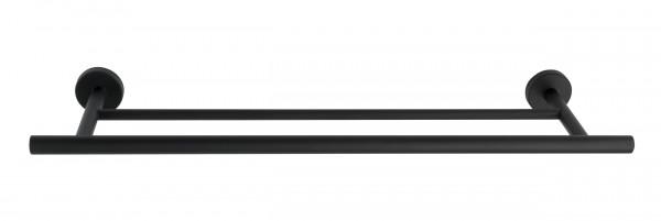 Badetuchstange Duo Bosio Black matt