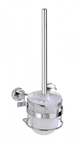 WENKO Garnitur Wc Befestigen ohne bohren Bürstengarnitur Bürstenhalterung