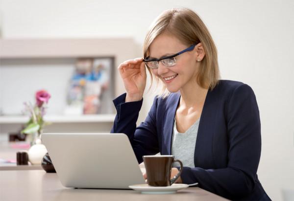 Adlens-Brille Adjustables Pink