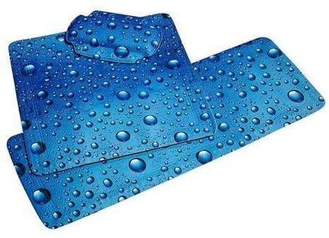 Duscheinlage Bubble, 55 x 55 cm, Marineblau