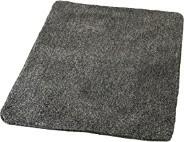 Badteppich Wilna, Schiefer 60 x 90 cm, grau