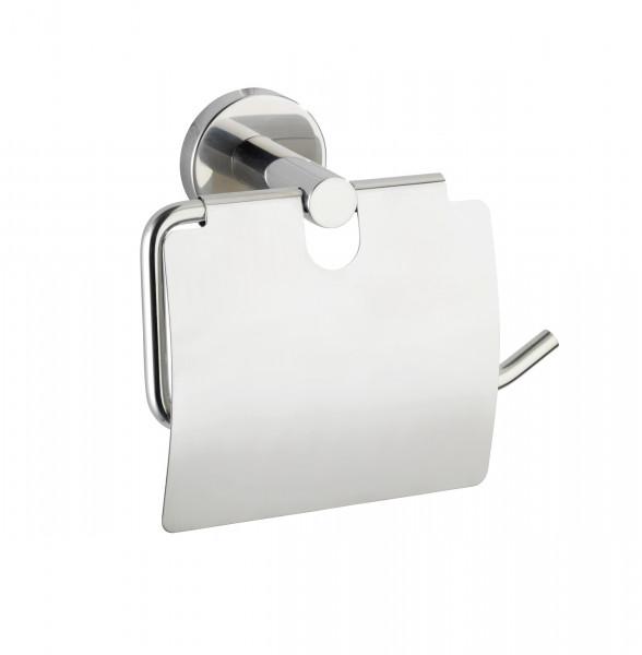 WENKO Toilettenpapierh. m.Deckel, Bosio Shine