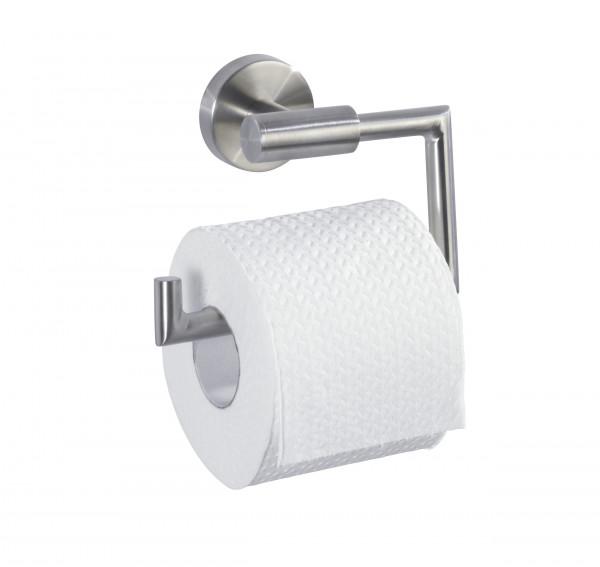 Edelstahl Halterung für Toilettenpapier ohne Deckel in Matt-Optik von WENKO