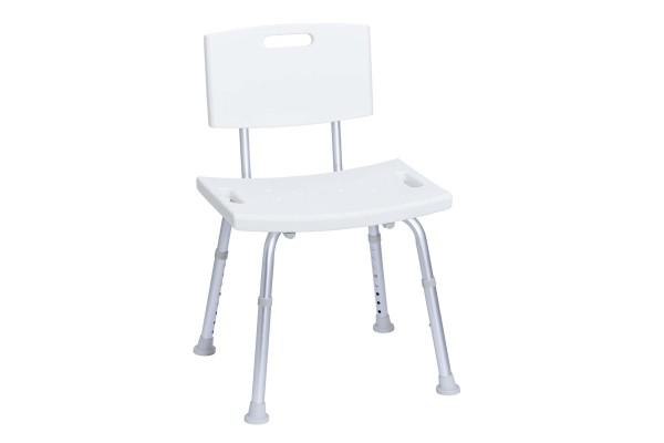 Duschsitz höhenverstellbar weiß