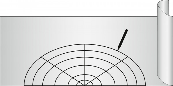 Anti-Rutsch-Matte Noppen Transparent 150 x 50 cm, zuschneidbar