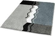 Badteppich Vanessa, Polyacryl Platin, 70 x 120 cm