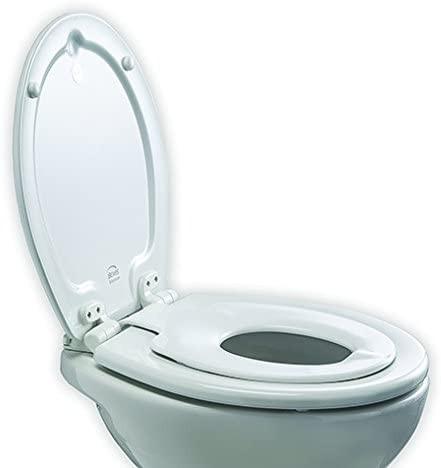 WC-Sitz für Kinder und Erwachsene, mit Absenkautomatik