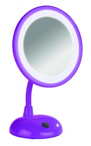 LED Kosmetikspiegel Style Purple