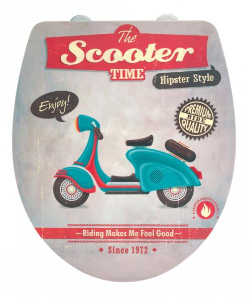 WENKO WC-Sitz Vintage Scooter