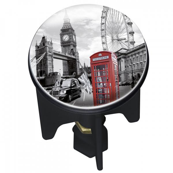 Waschbeckenstöpsel Pluggy® London für alle handelsüblichen Abflüsse