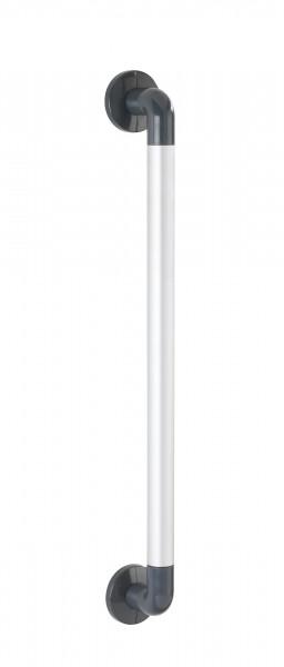 Wandhaltegriff Secura, 64,5cm, silber/anthrazit