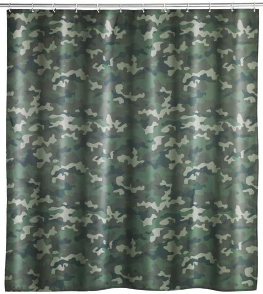 Duschvorhang Camouflage, 180 x 200 cm