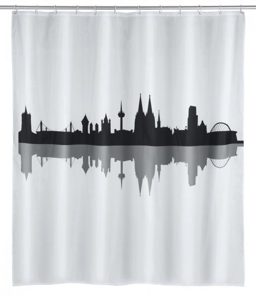 Duschvorhang Köln Polyester, 180 x 200 cm, waschbar