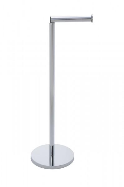 Stand Toilettenpapierhalter 2 in 1 Glänzend