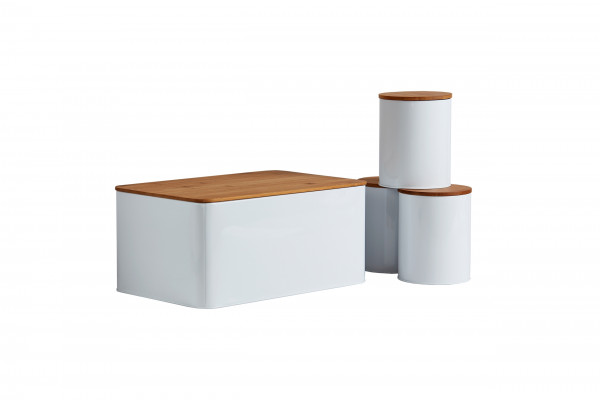 Brotkasten Set mit 3 Vorratsdosen