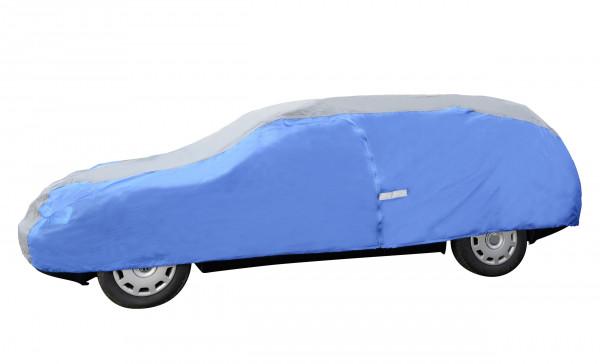 Auto Vollgarage Flexi mit Reißverschlüssen und Reflektionsstreifen