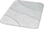Badteppich Wave, Polyacryl weiß, 70 x 120 cm