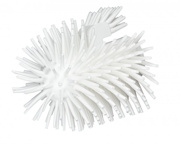Ersatz Bürstenkopf Silikon weiß 2er