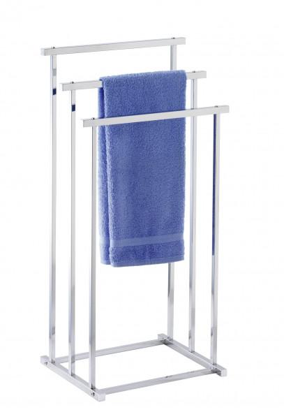 Handtuchbutler Quadro mit 3 Stangen Kleiderbutler