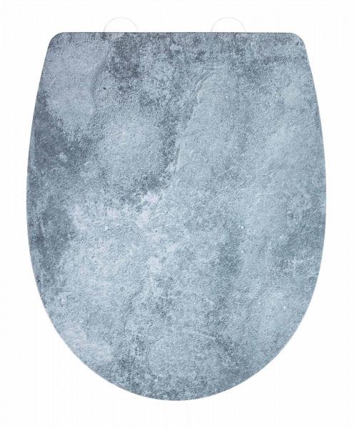 Premium WC-Sitz Cement mit Relief Thermoplast