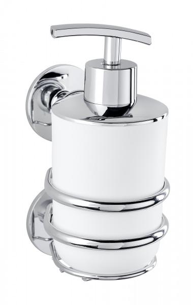 WENKO Seifenspender Cali Spender Flüssigseifen Dispenser Pumpspender Seife