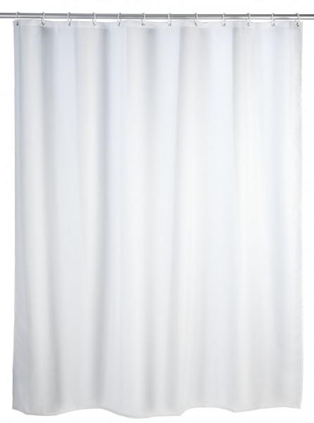 Anti-Schimmel Duschvorhang Uni White