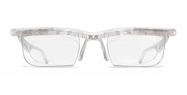 Adlens-Brille Adjustables kristall