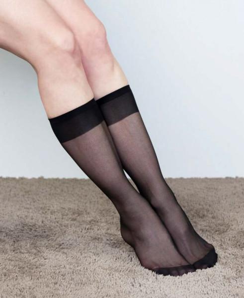 Socken Rose 3er schwarz