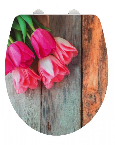 WC-Sitz Tulip, Duroplast Acryl