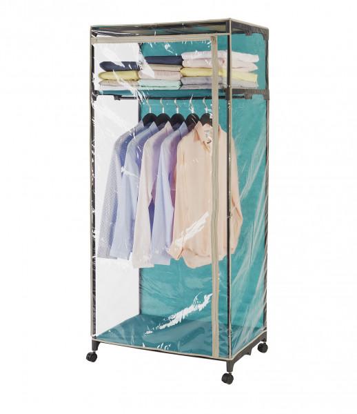 Kleiderschrank Breeze Transparent mit Ablage