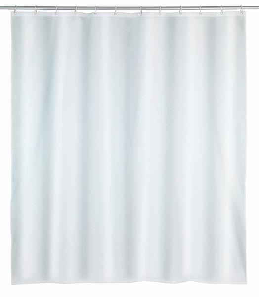 Duschvorhang Punto Weiß Polyester, 180 x 200 cm, waschbar