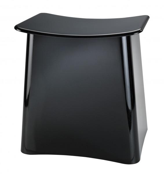 Badhocker schwarz