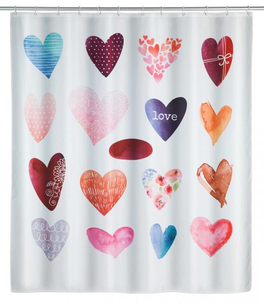 Duschvorhang Love, 180x200cm