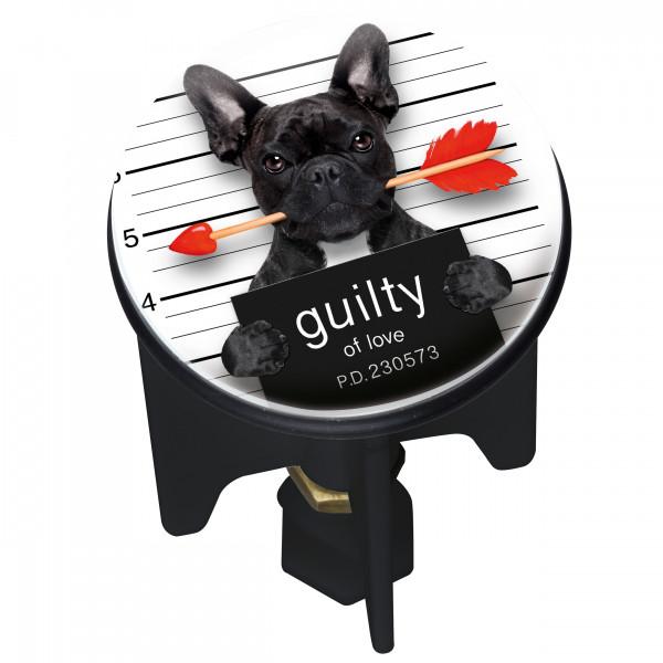 Waschbeckenstöpsel Pluggy® Guilty Dog