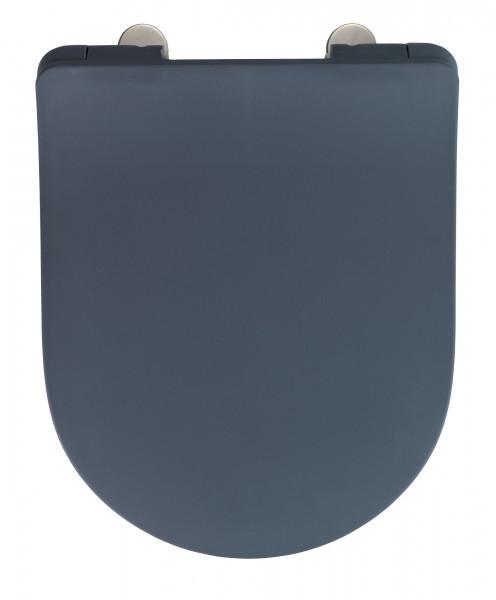WC-Sitz Sedilo, grau matt, Duroplast