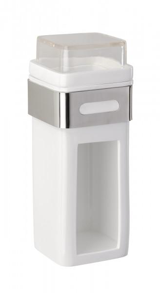 Wattepad- und Ohrstäbchenhalter Premium Plus