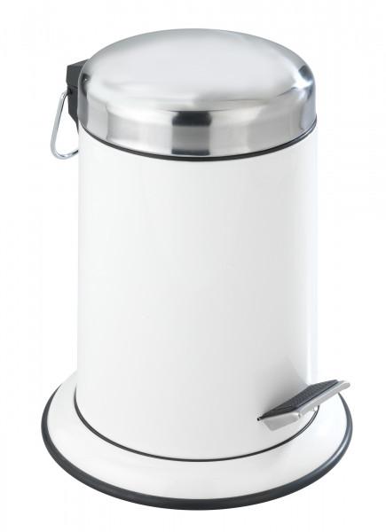 Kosmetik Treteimer Retoro, glänzend weiß