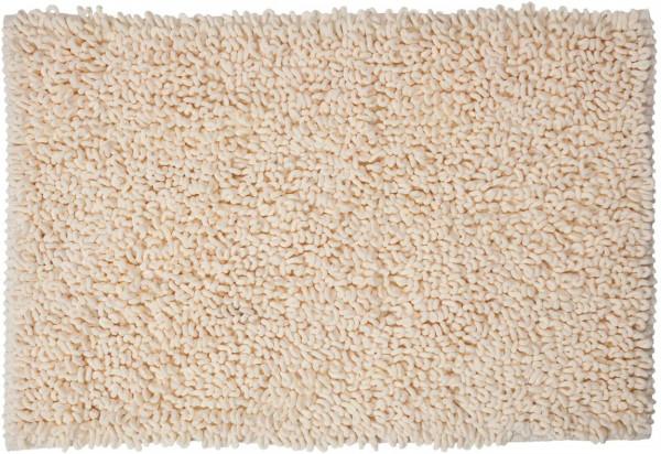 Badteppich Twist, Farbe: Beige, 90 x 60 cm