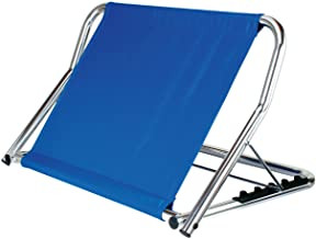 Rückensütze, Aluminium, blau, 480 x 700 x 470 mm