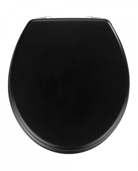 WENKO WC-Sitz Prima, schwarz matt