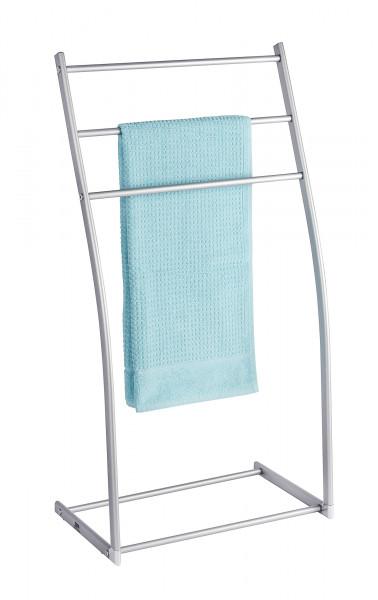 Aluminio Handtuchständer Almeria mit 3 Stangen Kleiderständer