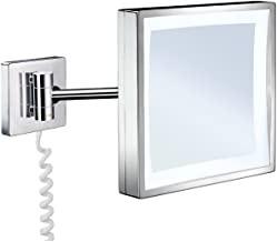 Rasierspiegel / Kosmetikspiegel mit LED Beleuchtung