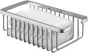 Regal für Bad und Dusche, Metall, 12.5x 26.5x 8.5cm