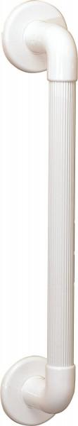GAH-Alberts Haltegriff geriffelt, Kunststoff, weiß, 450 mm