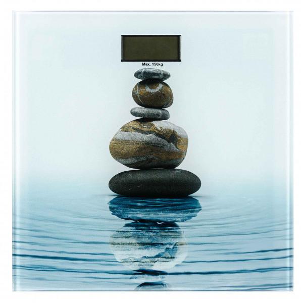 Badwaage Meditation LCD-Display