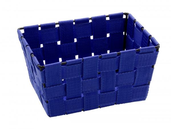 Aufbewahrungskorb Adria Mini Blau, rechteckig