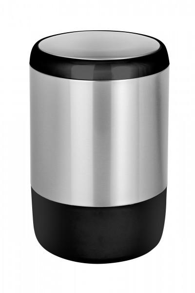 Schwingdeckeleimer Loft Edelstahl rostfrei, 20 Liter